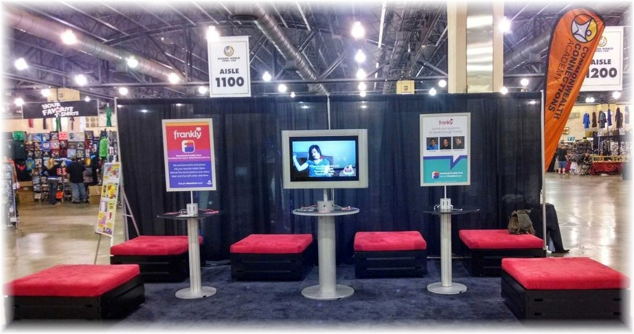 Trade Show Booth Kiosks : Best trade show display accessories available right here