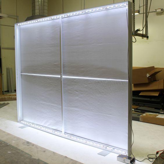 VAIL Fabric Frame Displays